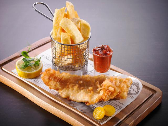 Fish & Chips ,  Food ,  Buskers Bar , Dublin , Restaurant, Temple Bar Hotel